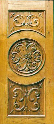 木门结构图