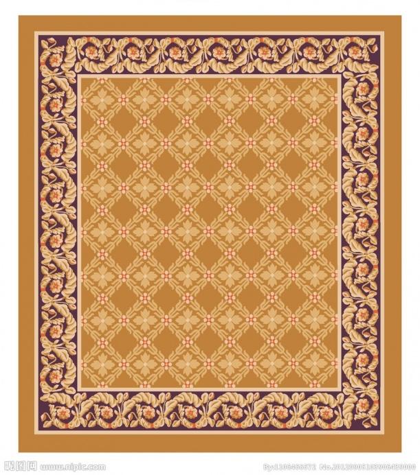 欧式地毯贴图_欧式地毯材质3dmax材质