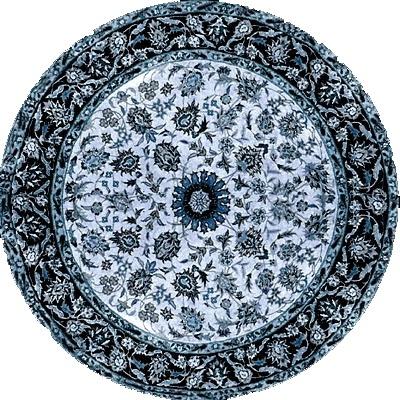 圆形花纹地毯贴图-17924