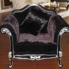 欧式布艺沙发图片4
