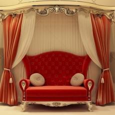 欧式布艺沙发图片1