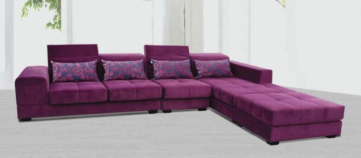 客厅布艺沙发图片4