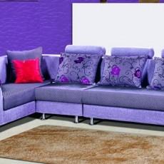 欧式布艺沙发图片3