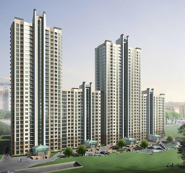 城市高楼建筑外景贴图