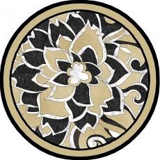圓形大理石拼花貼圖_圓形大理石拼花材質貼圖下載