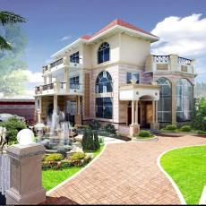 别墅外景贴图