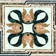 金鱼状欧式大理石贴图