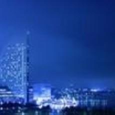 夜色城市外景贴图下载