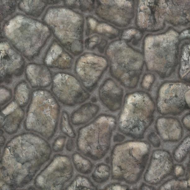 外景地面材质贴图
