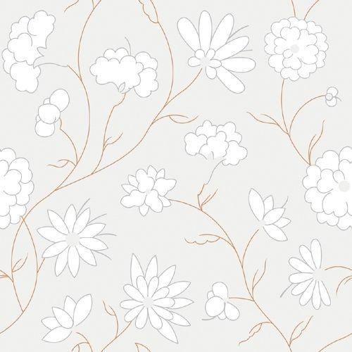 白色现代风格墙纸贴图