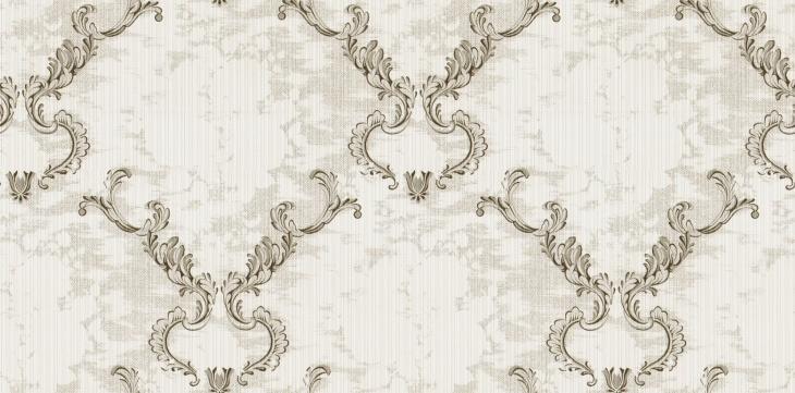 银白色田园风格墙纸材质贴图