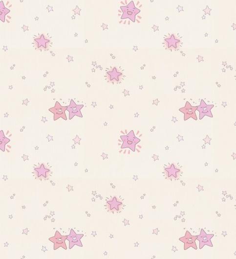 紫色系韩式墙纸贴图