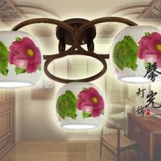 中式吸顶灯贴图