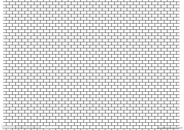 白色墻磚貼圖