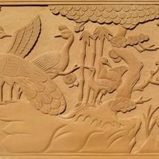 中式砂岩浮雕贴图