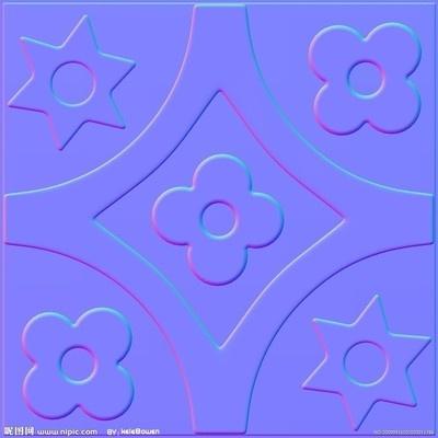 彩色贴图3dmax材质