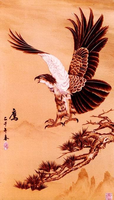 中式壁画贴图