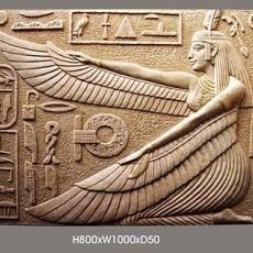 埃及砂岩浮雕贴图