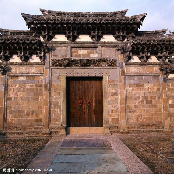 中式古建筑3dmax材质