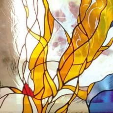 彩绘玻璃贴图