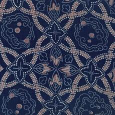 蓝色布纹墙纸材质贴图-24516