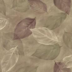 树叶图案墙纸贴图-25426