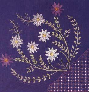 紫色花纹地毯材质贴图-24348