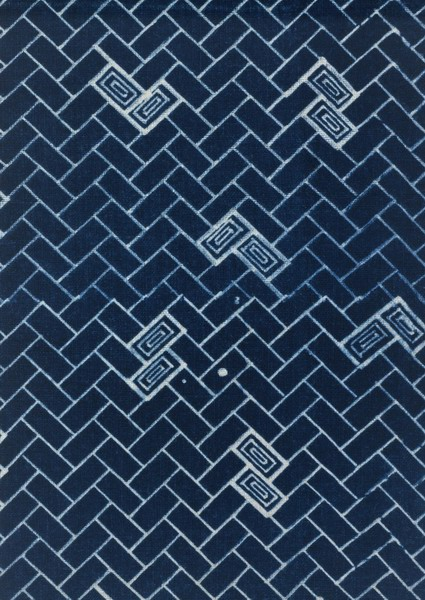 蓝色布纹彩色墙纸贴图素材-24633