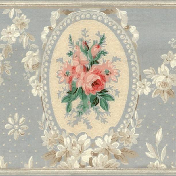 欧式花纹壁纸贴图-29736