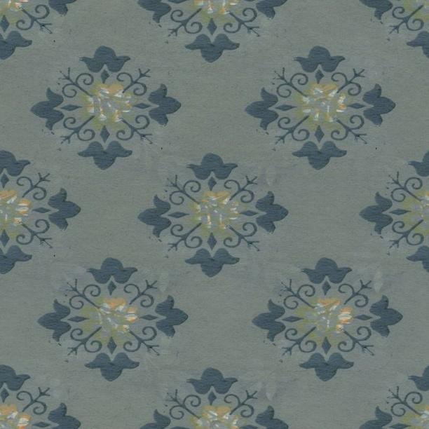 欧式花纹壁纸贴图-29746