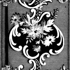 欧式花纹壁纸贴图-29760