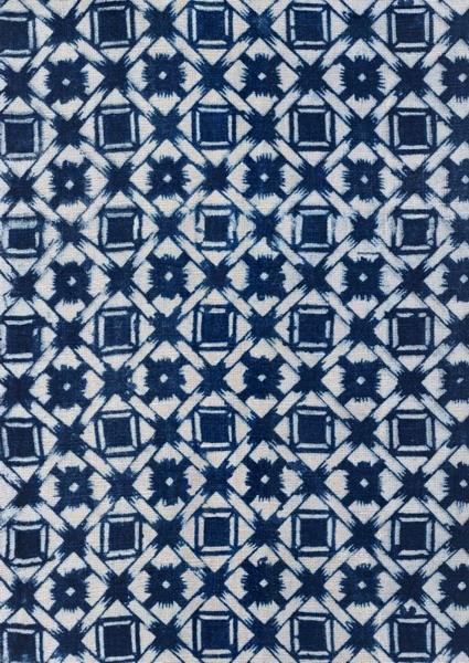 蓝色格子布墙纸贴图素材-243dmax材质