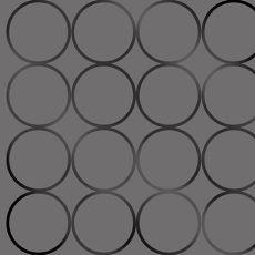 圆形图案墙纸材质贴图-24507