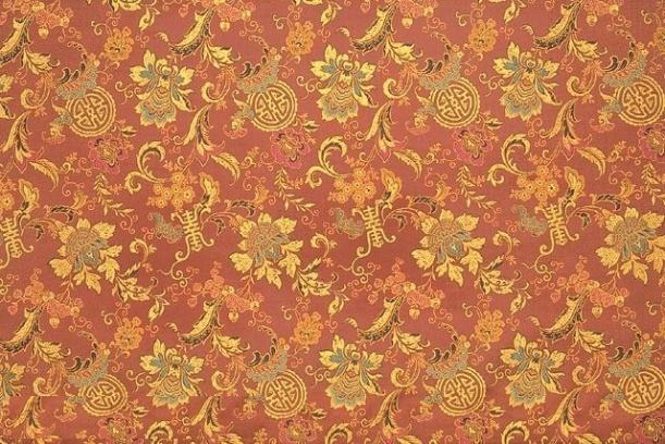 中式花纹布艺素材贴图-25129