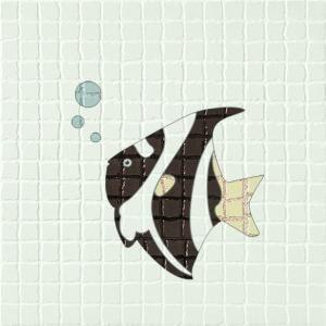 浴室花紋墻磚貼圖-39922