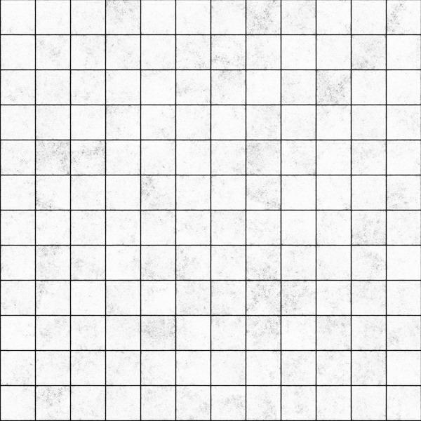 白色格子墙砖贴图-32157