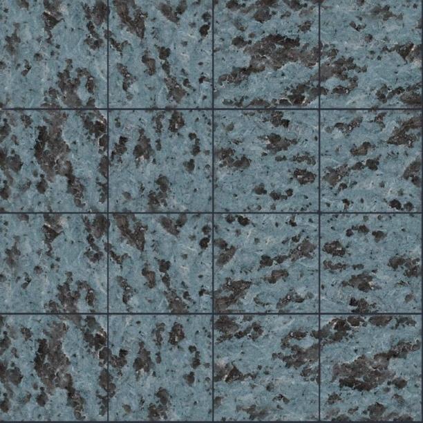 蓝灰色墙砖贴图-32294