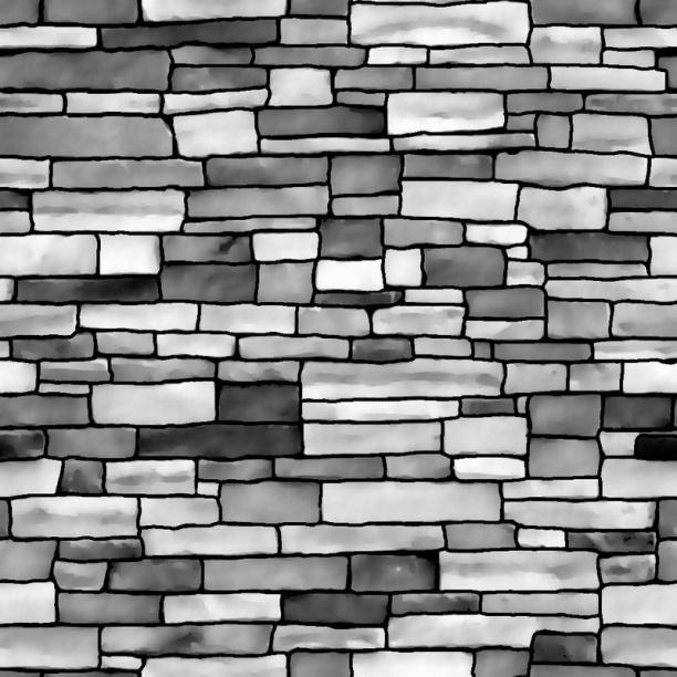 灰色墙砖贴图-32445