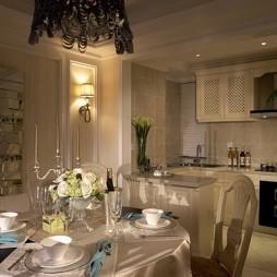 欧式风格厨房餐厅装修效果图
