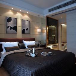 房屋卧室带卫生间装修效果图