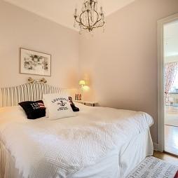2017混搭风格简单温馨90后女生家居客厅连卧室装修效果图片