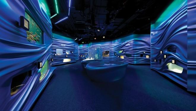 水族馆设计 光影流转的精彩_博物馆展示设计图片