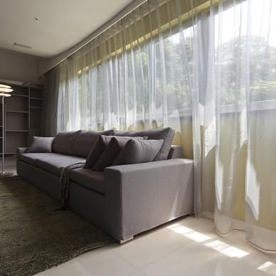 新北市中和曉山青住家客厅装修效果图片