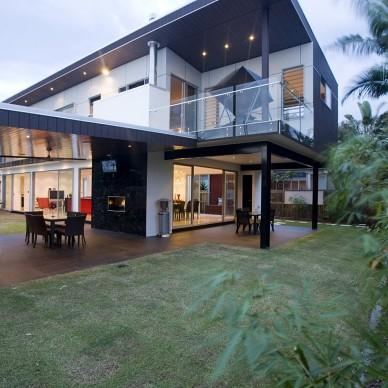 昆士兰庭院别墅设计2