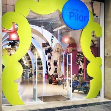 """巴塞罗那""""Pilar的故事""""玩具店室内设计 2"""