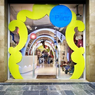 """巴塞罗那""""Pilar的故事""""玩具店室内设计 1"""