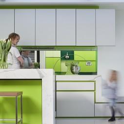 澳大利亚墨尔本度假别墅设计厨房壁柜装修效果图