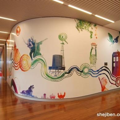 BBC总部工作区域设计2