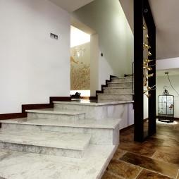 混搭美步楼梯装修效果图
