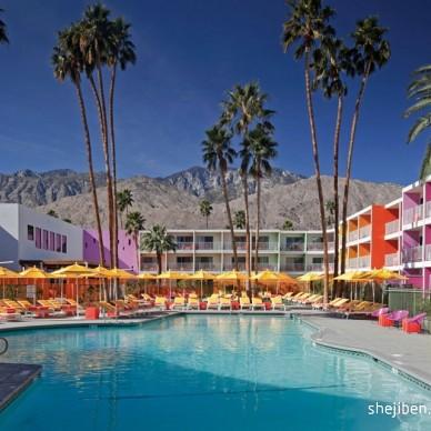 Saguaro酒店设计 暖色调色彩天堂_661446